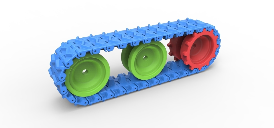 Track for toy models 3D Print 251495
