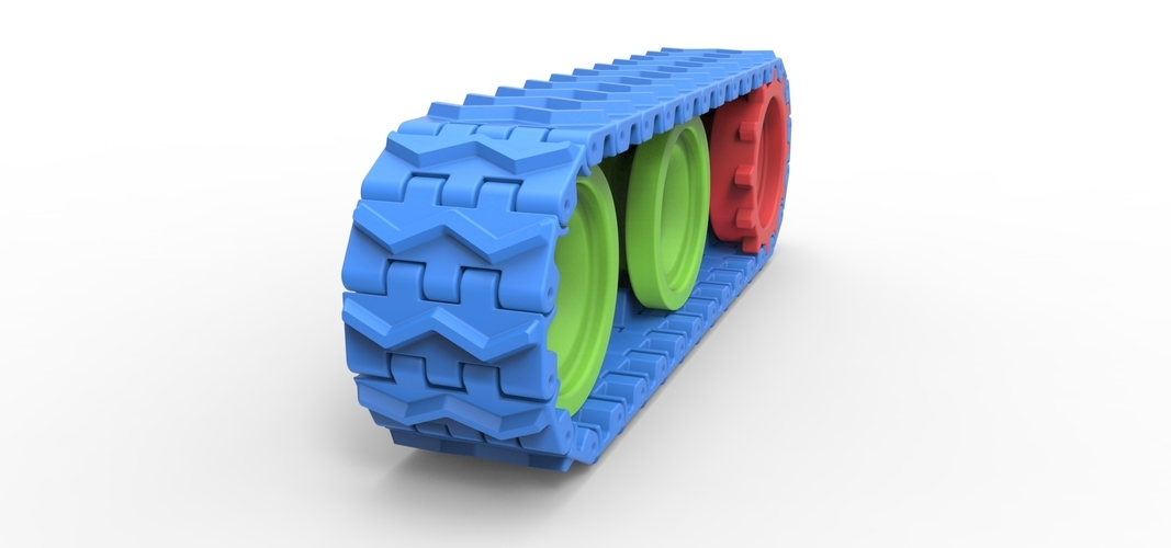 Track for toy models 3D Print 251497