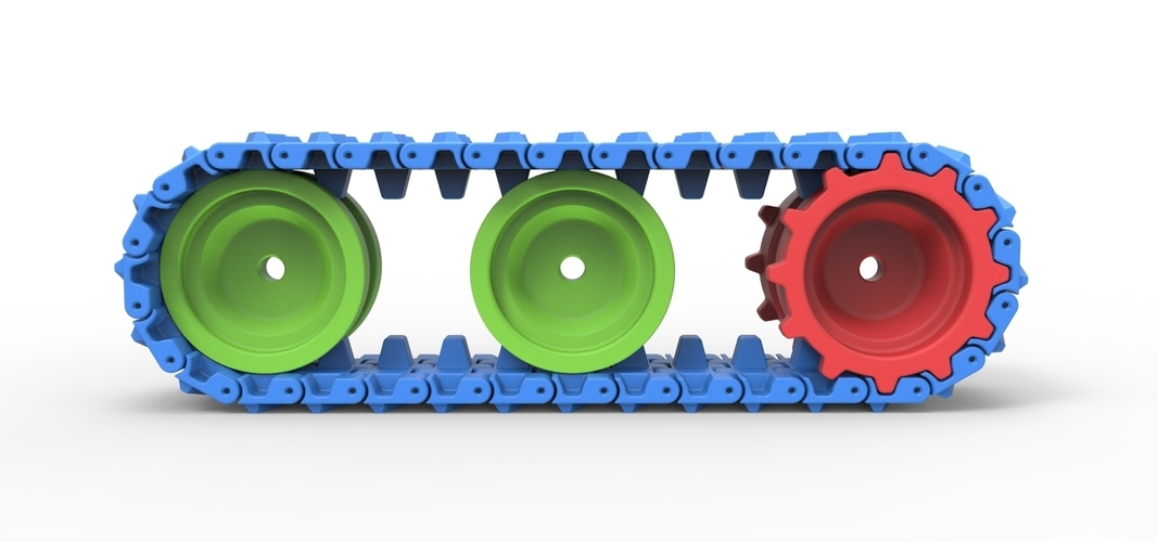 Track for toy models 3D Print 251499