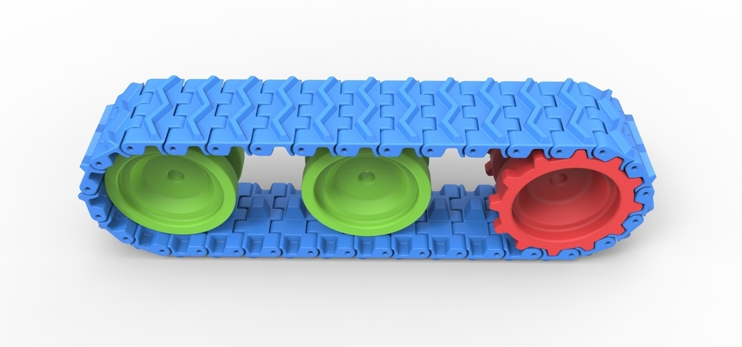 Track for toy models 3D Print 251500