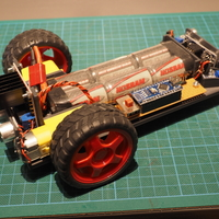 Small Car Frame 1 (Robot car experimenting) 3D Printing 251533