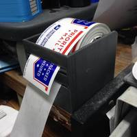 Small Dispenser for Priority Mail Roll Labels. 3D Printing 25163