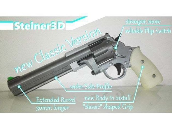 Prop Gun | Revolver - Single Action 3D Print 251753