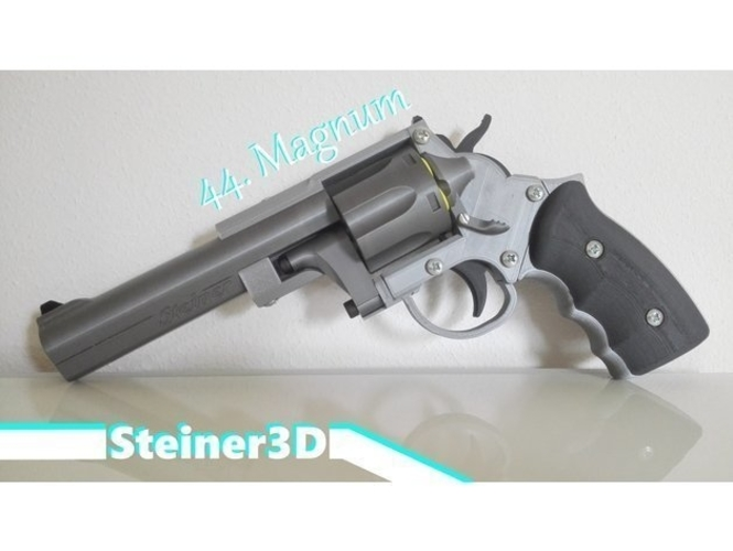Prop Gun | Revolver - Single Action 3D Print 251754