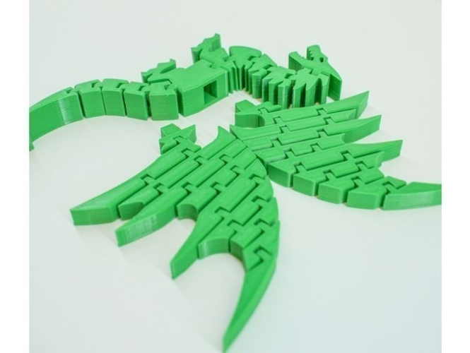 Lilttle Dragon Toy 3D Print 251781