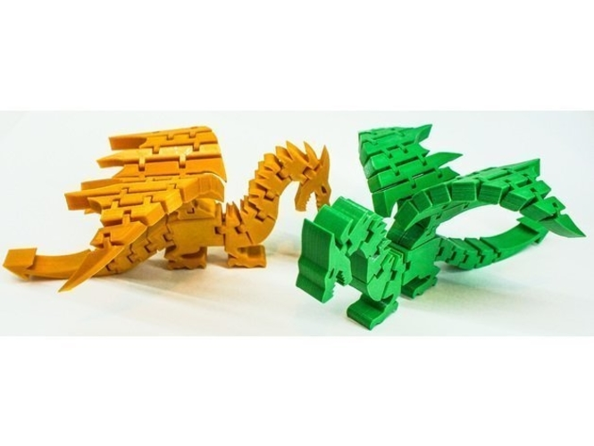 Lilttle Dragon Toy 3D Print 251783