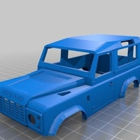 Small Little Toy Jeep 3D Printing 251787