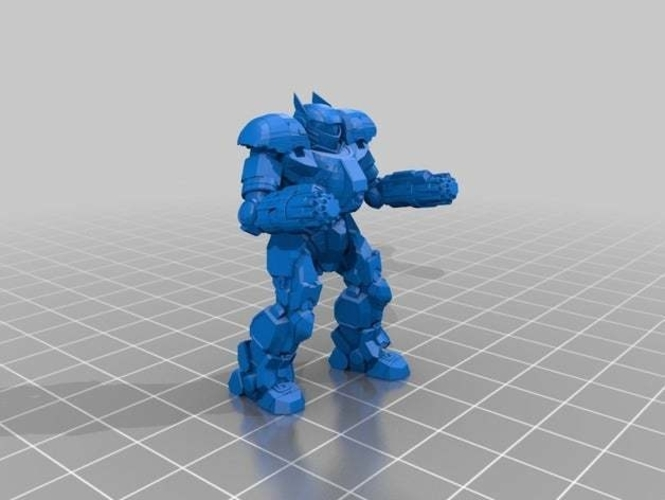 Collection MWO Style Clan Crossbow 3D Print 251802