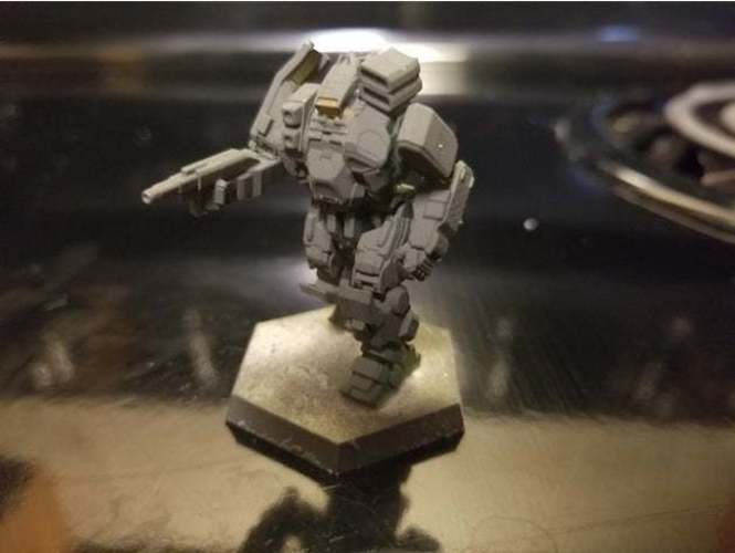 Collection MWO Style ConjurerHellhound 3D Print 251807