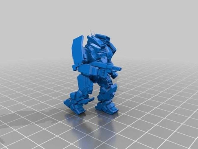 Collection MWO Style ConjurerHellhound 3D Print 251809