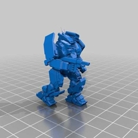 Small Collection MWO Style ConjurerHellhound 3D Printing 251809