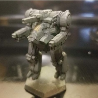 Small Collection MWO Style Juggernaut 3D Printing 251822