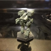Small Collection MWO Style Lupus Toy 3D Printing 251938