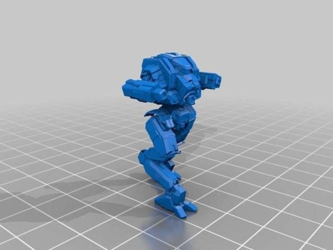 Collection MWO Style Night Hawk Toy 3D Print 251942