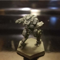 Small Collection MWO Style Night Hawk Toy 3D Printing 251943