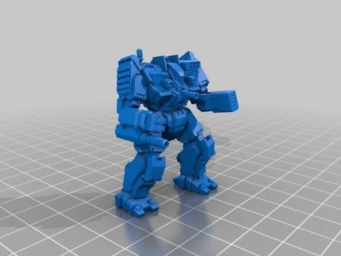 Collection MWO Style Rampage Toy 3D Print 251944