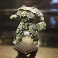 Small Collection MWO style Salamander Toy 3D Printing 251946