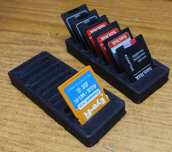Another SD card holder 3D Print 25196