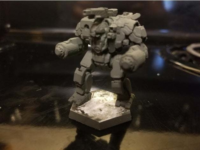 Collection MWO Style Scylla Toy 3D Print 251982