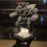 Small Collection MWO Style Scylla Toy 3D Printing 251982