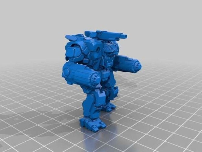 Collection MWO Style Scylla Toy 3D Print 251983