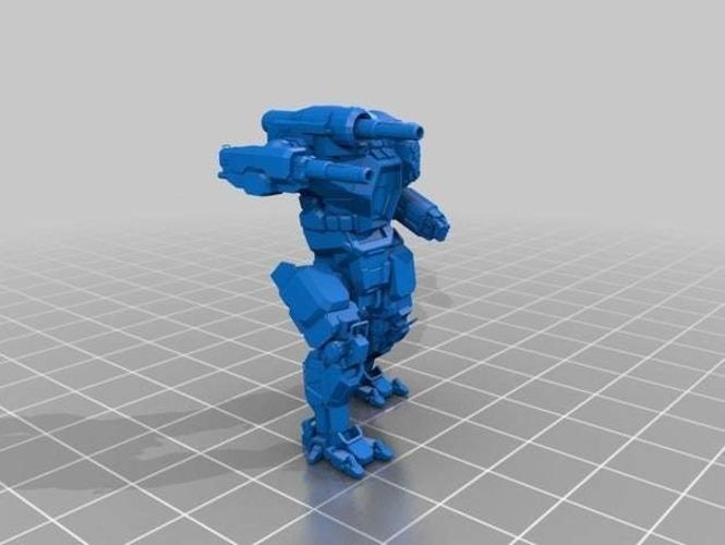 Collection MWO Style Starslayer Toy 3D Print 251986