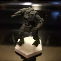 Small Collection MWO Style Starslayer Toy 3D Printing 251987