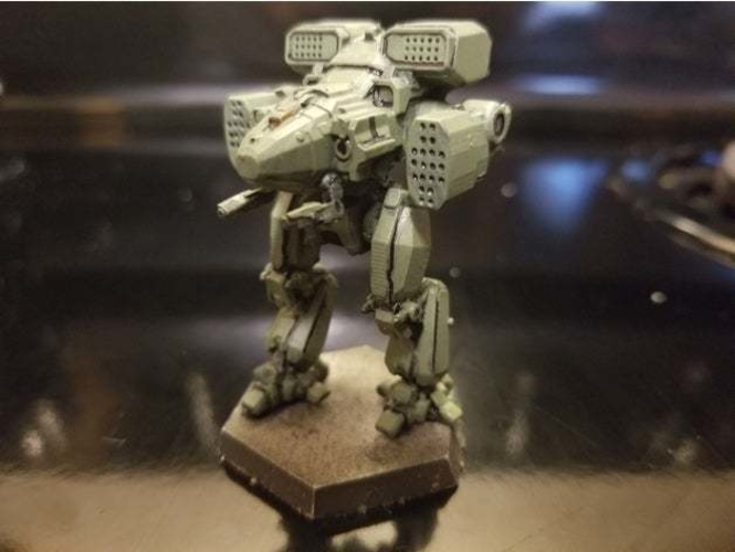 Collection MWO Style Viking Toy 3D Print 252000