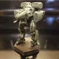 Small Collection MWO Style Viking Toy 3D Printing 252001