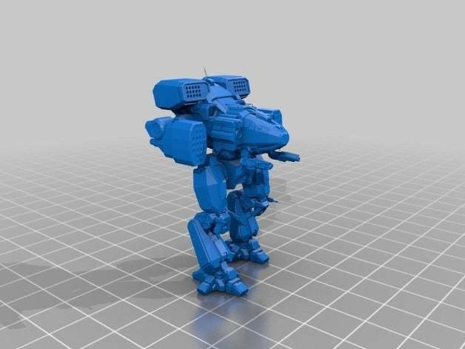 Collection MWO Style Viking Toy 3D Print 252003
