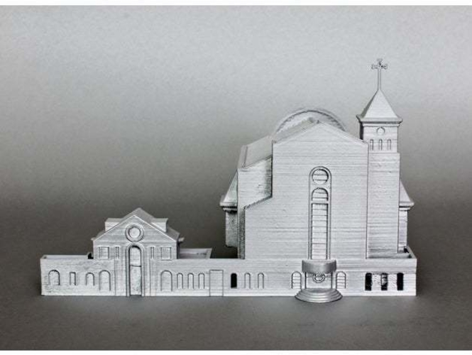 Suseo Cathedral 3D Print 252045