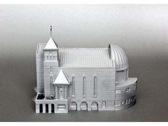 Suseo Cathedral 3D Print 252046