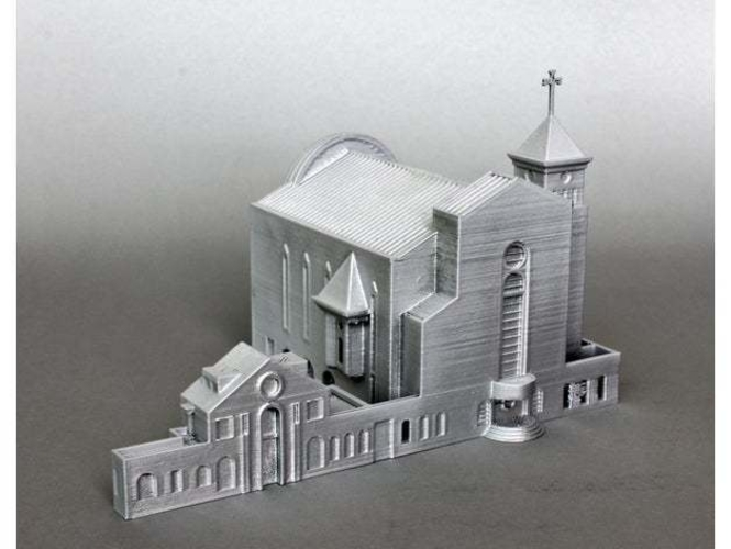 Suseo Cathedral 3D Print 252049