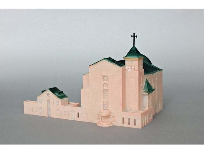 Suseo Cathedral 3D Print 252050