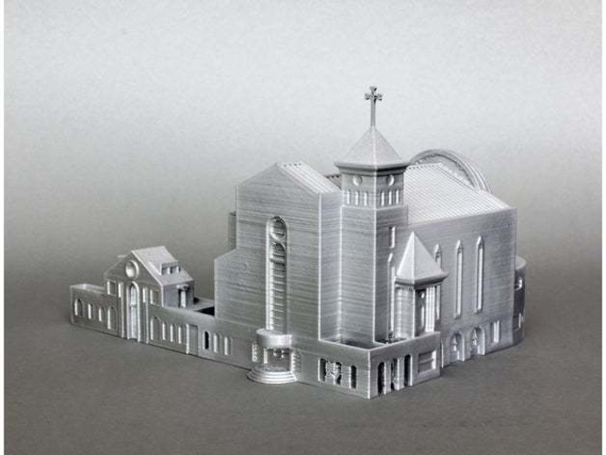 Suseo Cathedral 3D Print 252051