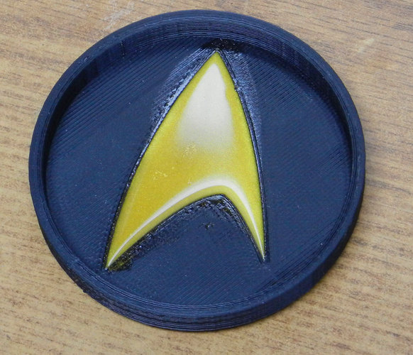 Star Trek Coaster 3D Print 25206