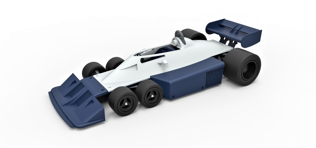 Diecast model Tyrrell P34B Formula 1 Scale 1 to 24 3D Print 252098