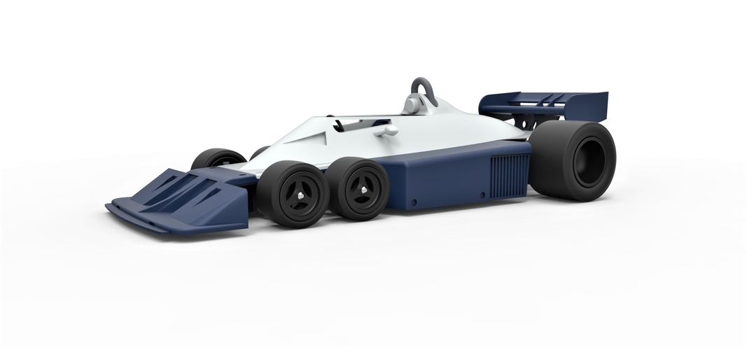 Diecast model Tyrrell P34B Formula 1 Scale 1 to 24 3D Print 252099