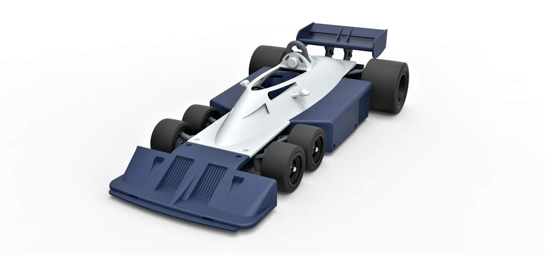 Diecast model Tyrrell P34B Formula 1 Scale 1 to 24 3D Print 252100