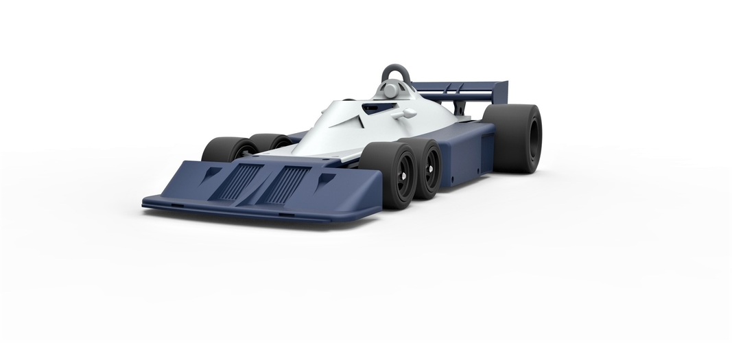 Diecast model Tyrrell P34B Formula 1 Scale 1 to 24 3D Print 252101