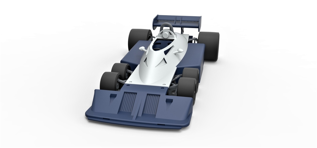 Diecast model Tyrrell P34B Formula 1 Scale 1 to 24 3D Print 252102