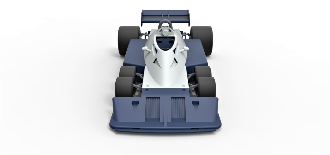 Diecast model Tyrrell P34B Formula 1 Scale 1 to 24 3D Print 252103