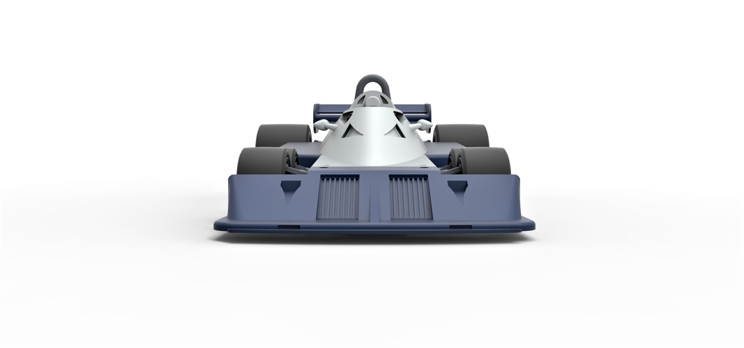 Diecast model Tyrrell P34B Formula 1 Scale 1 to 24 3D Print 252104
