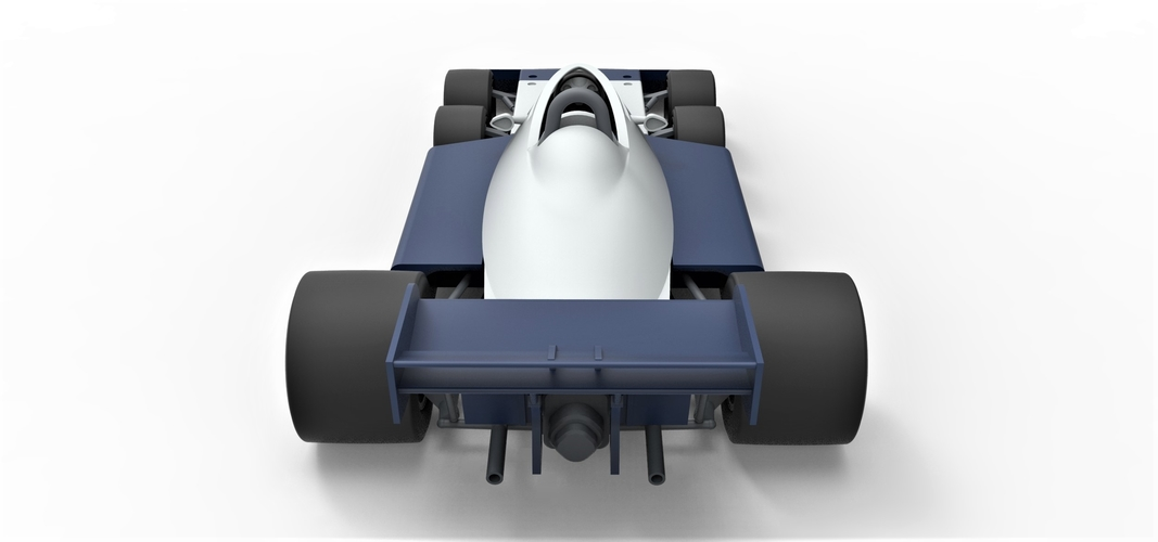 Diecast model Tyrrell P34B Formula 1 Scale 1 to 24 3D Print 252111