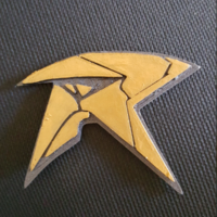 Small Robin Badge - Titans 3D Printing 252166