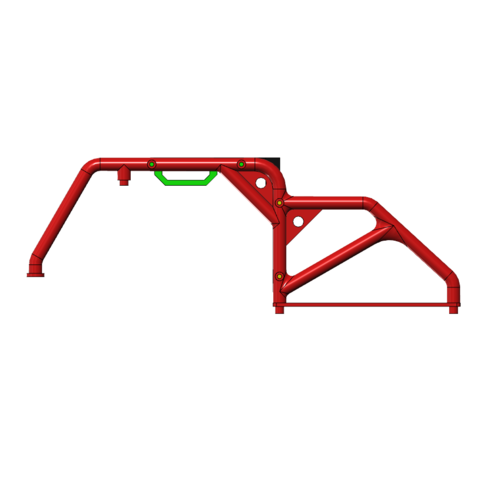 Rubicon hard body Roll Bar​ RC crawler 1/10​ 3D Print 252184