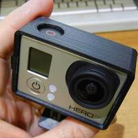 Small GoPro Hero3 minimal case 3D Printing 25227