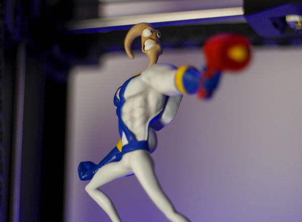 Medium Earthworm Jim 3D Printing 252470