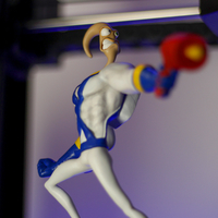Small Earthworm Jim 3D Printing 252470