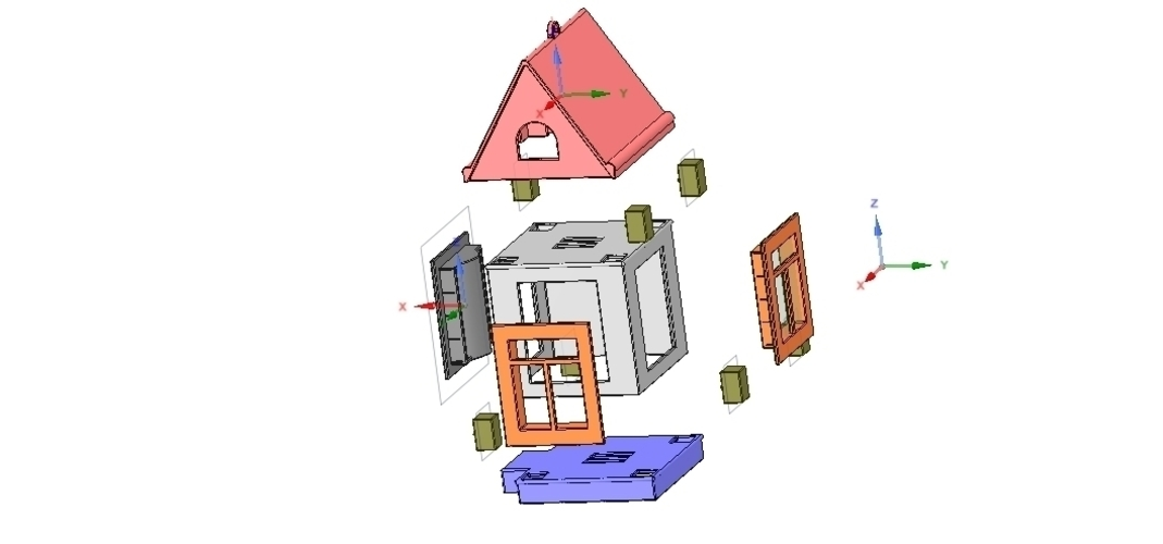 development game type and build your house 3d 3D Print 252509